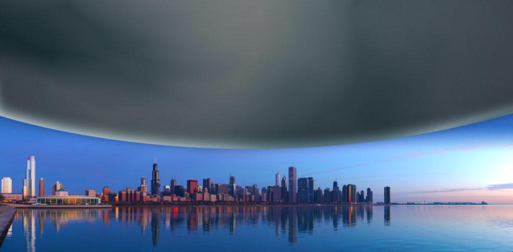 Neutron Star Over Chicago