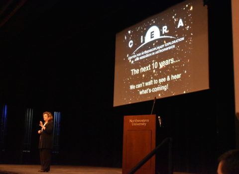 """CIERA's 10th Annual Public Lecture, """"The NU Astronomy of Stars, Black Holes, and Cosmic Explosions"""""""