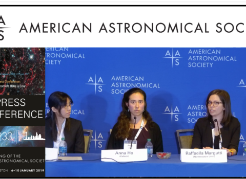 """Press Conference: """"Astronomers Have a Cow"""""""