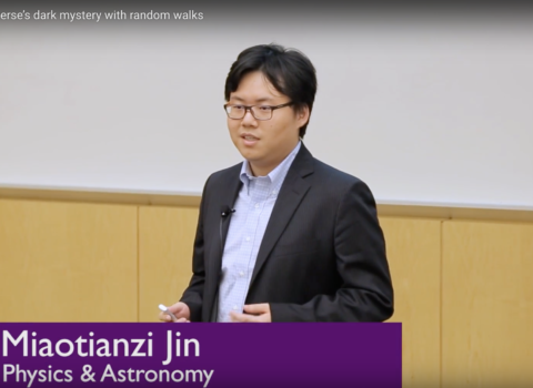 Unveiling the Universe's Dark Mysteries Through Random Walks – Miaotianzi Jin