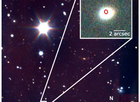 CSS161010's Host Galaxy