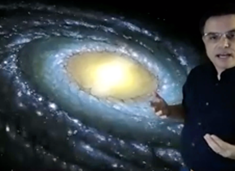 """Shane Larson's Virtual Public Lecture, """"A Storm of Stars: A Living History of the Milky Way"""""""